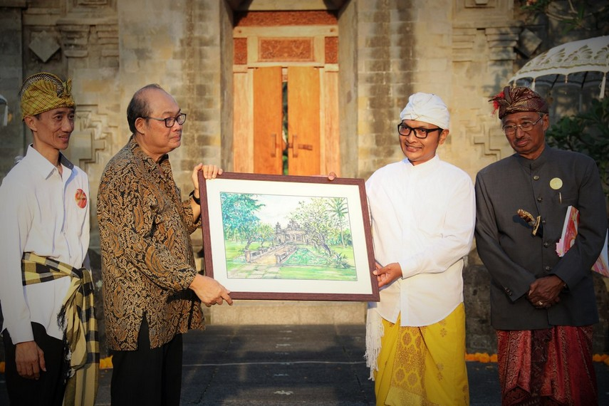 Kegiatan Jubilee Indonesian Watercolour Society