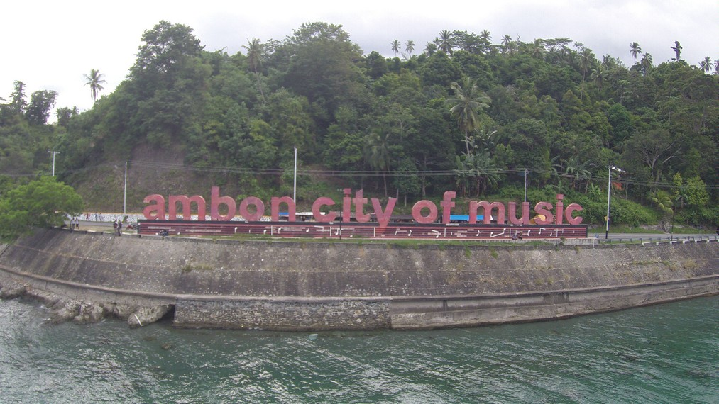 Tulisan Ambon city of the Music