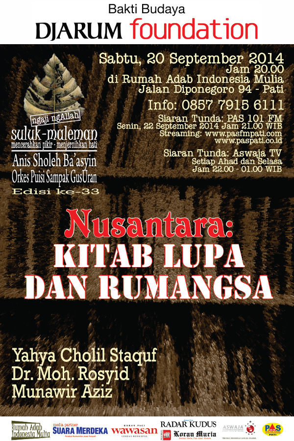 Suluk Maleman Edisi September 2014