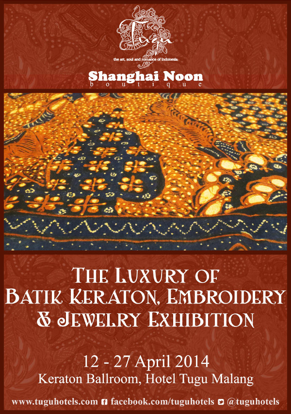 The Luxury of Batik Keraton, Embroidery and Jewelry Exhibition