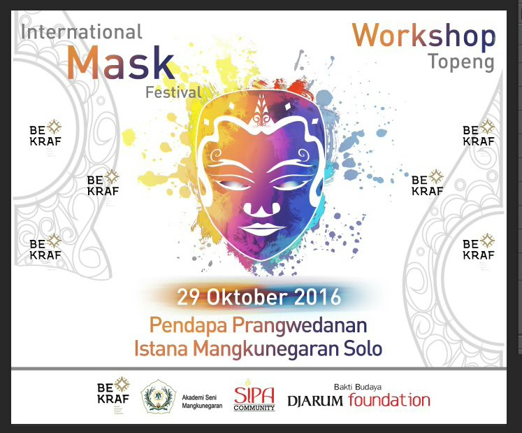 Indonesia Mask Festival 2016