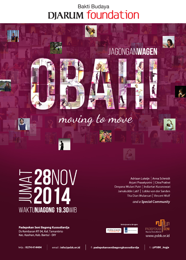 """OBAH! Moving to Move"", Jagongan Wagen Edisi November 2014"