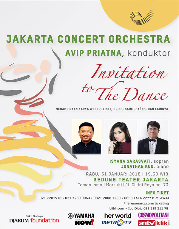 Jakarta Concert Orchestra mempersembahkan Invitation to the Dance