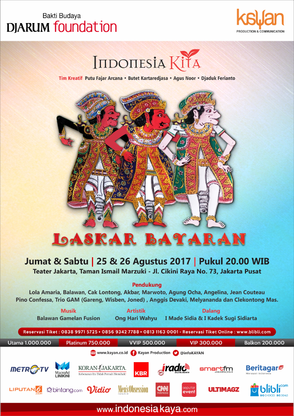 "Program Indonesia Kita 2017, ""Laskar Bayaran"""