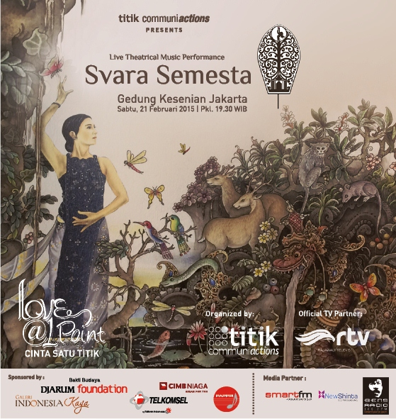 Live Theatrical Music Performance  Ayu Laksmi - Svara Semesta : Love@1Point