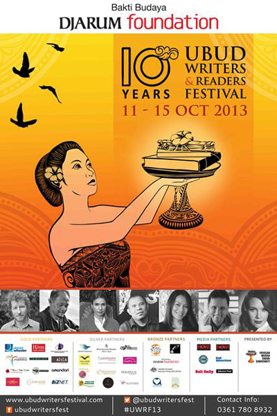 Ubud Writers & Readers Festival 2013