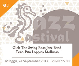 Jazz Eastival oleh The Swing Boss Jazz Band Feat. Pita Loppies Mollucas