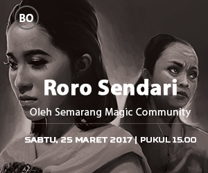 Roro Sendari oleh Semarang Magic Community