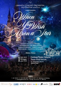 "Jakarta Concert Orchestra Mempersembahkan Konser ""When You Wish Upon a Star"""